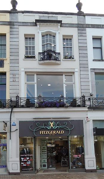 Fitzgerald's Menswear, Cork